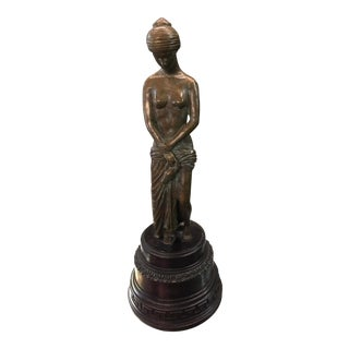 Maitland Smith Bronze Grecian Sculpture For Sale
