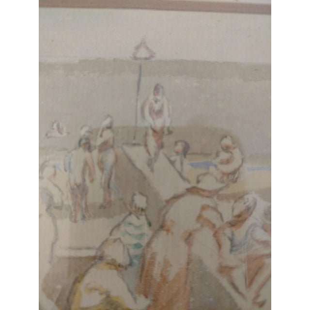This is a very special find. Thérèse Lessore (5 July 1884 – 10 December 1945) was an English artist who worked in oil and...