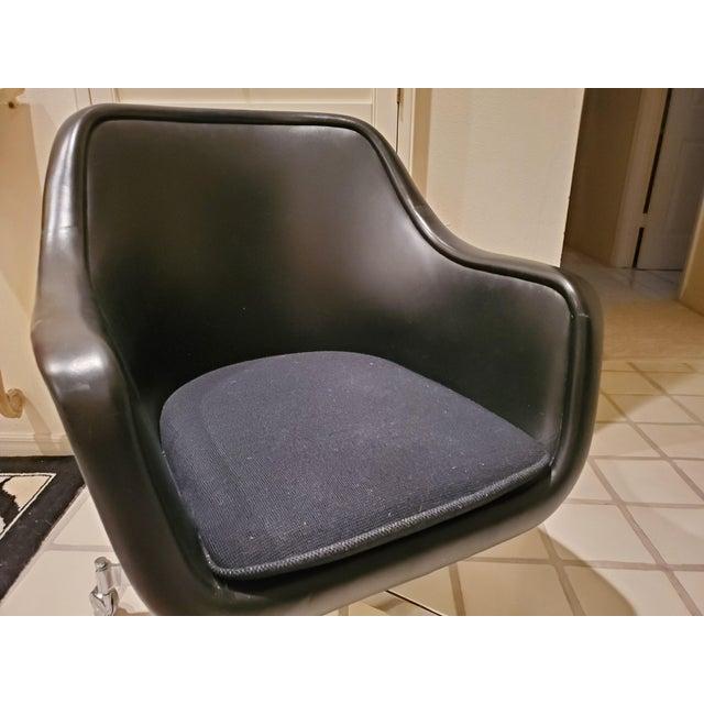 Black Ward Bennett Classic Black Office Desk Chair for Brickel Associates For Sale - Image 8 of 13