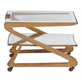 Zanuso Style Modern Bar Cart