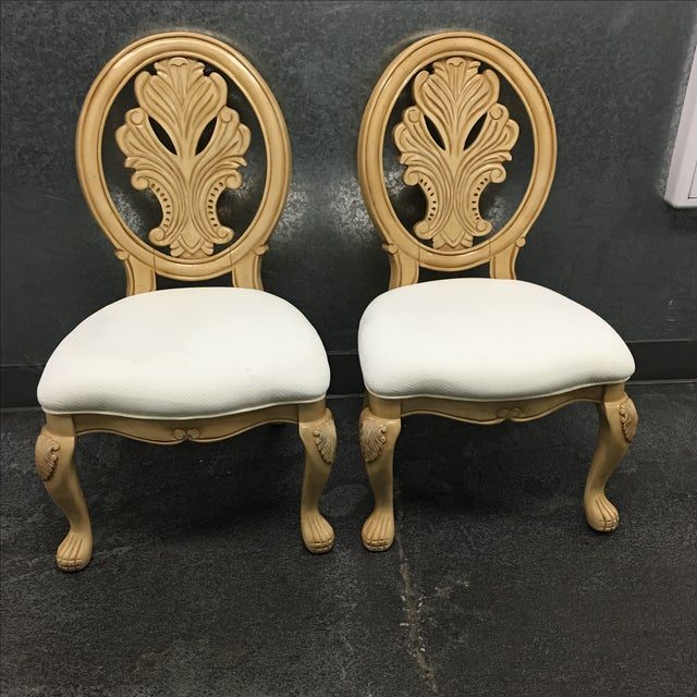 Classical-Style Side Chairs- A Pair - Image 4 of 10