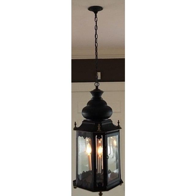 Beautiful Large Three Light Lantern Pendant Takes 60w Bulbs 49 1