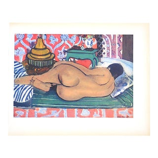 Vintage Mid Century Matisse Lithograph For Sale