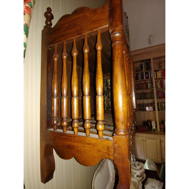 Mid 19th Century Antique French Walnut Panatier For Sale - Image 5 of 7