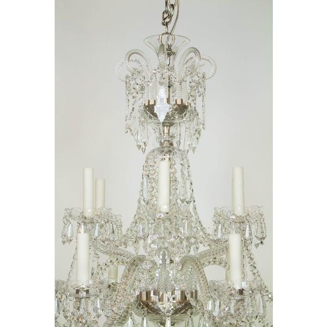 Spanish Martinez y Ortz Crystal Chandelier For Sale - Image 3 of 9