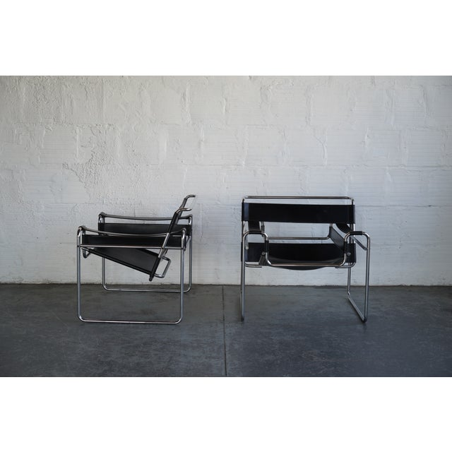 Vintage Marcel Breuer Wassily Chairs. Truly an iconic mid century piece. The price is listed per chair! And yes they are...