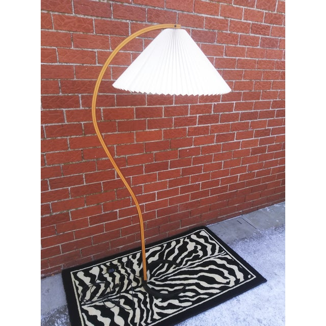 Vintage Danish Modern Bentwood Mads Caprani Floor Lamp For Sale - Image 13 of 13