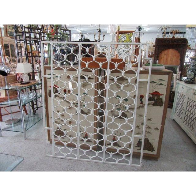 Aluminum Moroccan Screen Panel - Image 6 of 6