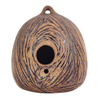 Mid-Century Style Ceramic Birdhouse For Sale