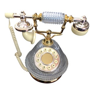 French Style Crystal Phone For Sale