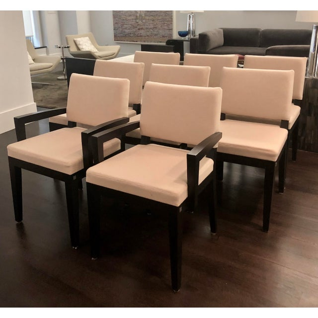 Modern Desiron Dining Chairs - Set of 8 For Sale - Image 9 of 10