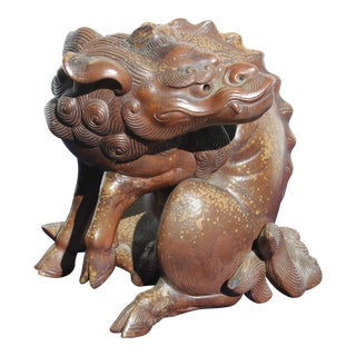 Japanese Foo Dragon Figure For Sale