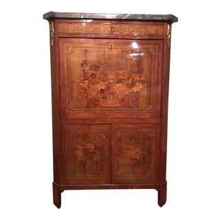 Late 18th Century Antique Louis XVI Secretary Desk For Sale