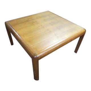 1960s Danish Modern Square Teak Coffee /Side Table For Sale