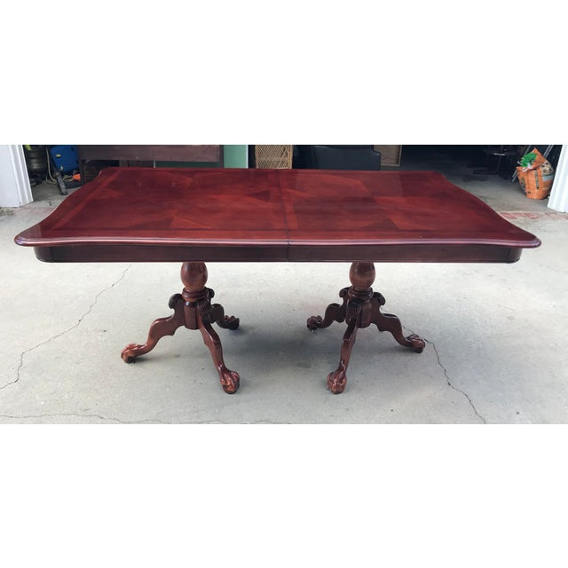 Claw Foot & Ball Dining Table - Image 7 of 7