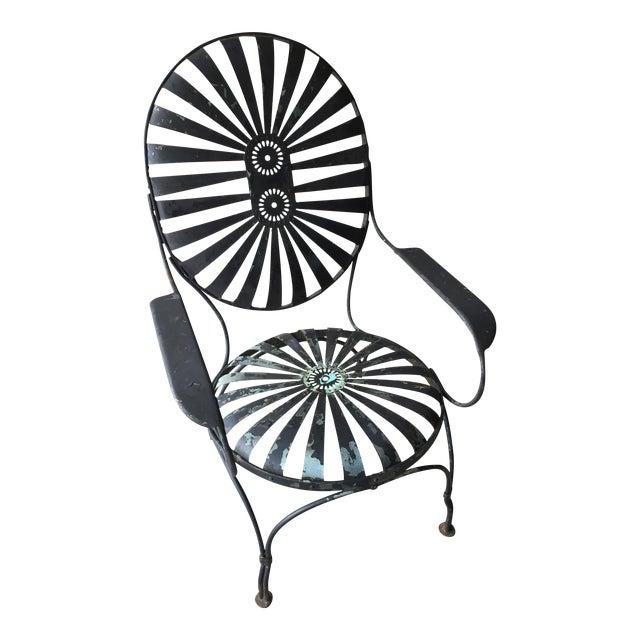 Carre Double Sunburst Garden Chair - Image 1 of 5