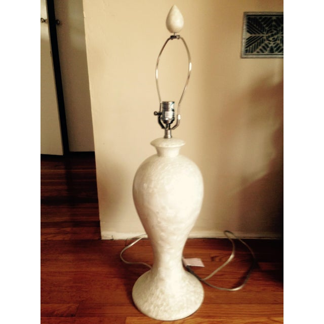 White Peony Table Lamp - Image 2 of 6
