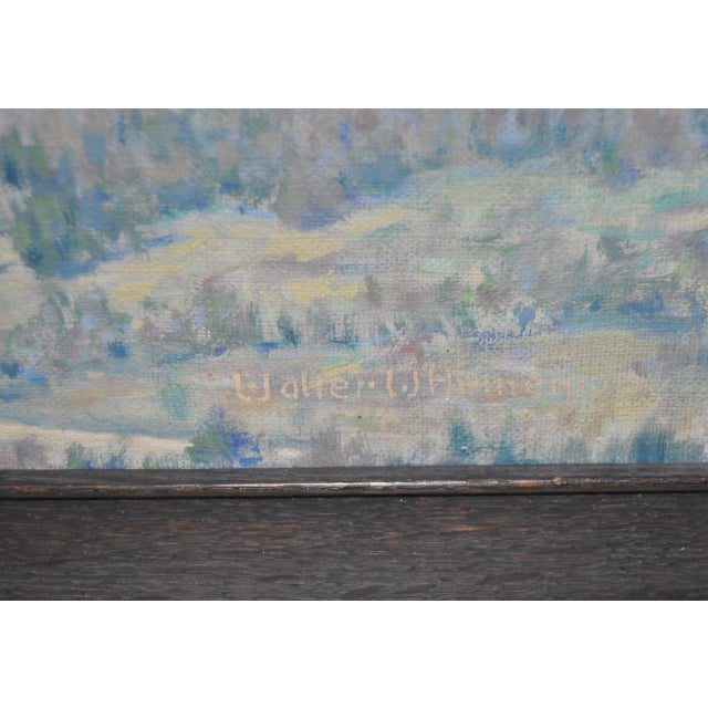 """""""Geese in Flight"""" Original Oil Painting For Sale In San Francisco - Image 6 of 8"""