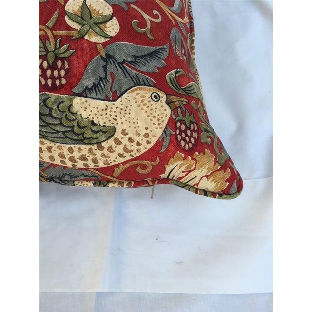 William Morris Strawberry Thief Pillow Chairish