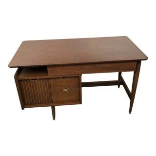 1950s Mid Century Modern Writing Desk For Sale