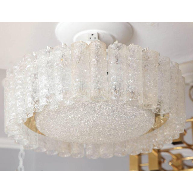 Vintage Doria Flush Mount Light For Sale - Image 4 of 8