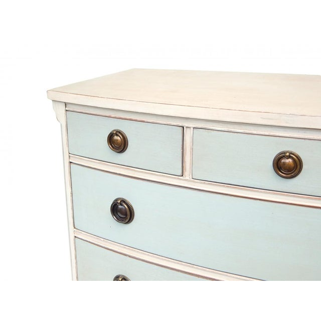 Swedish Blue and White Dresser - Image 8 of 10