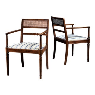 Axel Einar Hjorth Pair of Armchairs for SMF, Bodafors, Sweden, 1920s For Sale