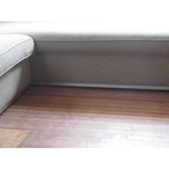 Antonio Citterio for B&b Italia Sectional Sofa & Large Ottoman For Sale - Image 10 of 13