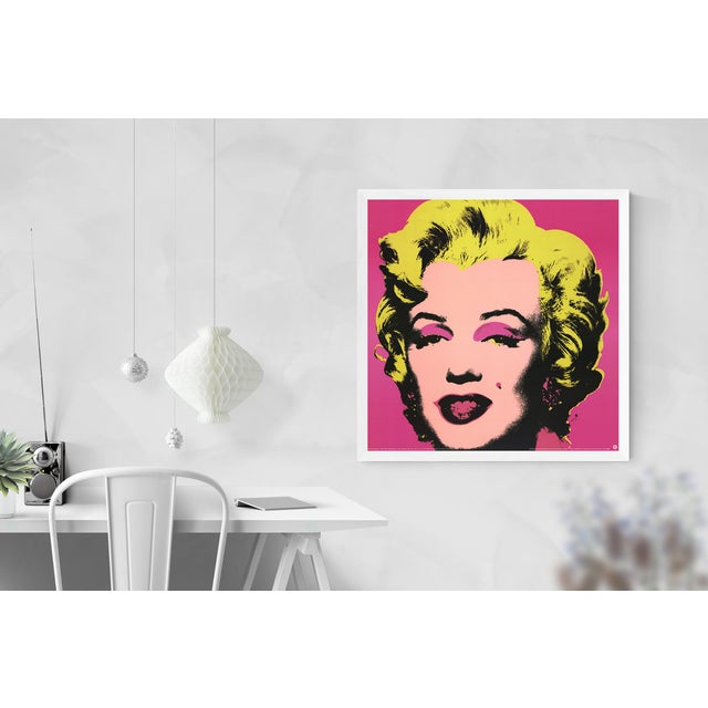 Andy Warhol- Marilyn Pink (sm): Marilyn Pink by Andy Warhol, printed in 1999, published by Te neues Publishing in Kempen,...