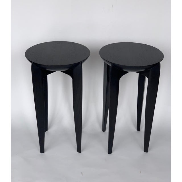 Christian Liaigre Christian Liaigre Style Side Tables - a Pair For Sale - Image 4 of 6