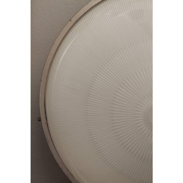1960s Sergio Mazza 'Sigma' Wall or Ceiling Light for Artemide For Sale In Los Angeles - Image 6 of 11