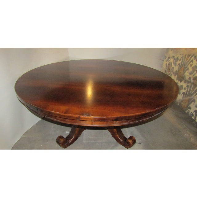 Traditional Solid Wood 70 Inch Round Dining Table Chairish