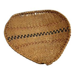 Native American Style Pomo Drying Basket For Sale