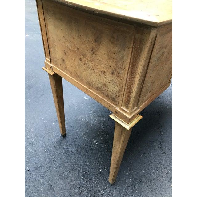 Mastercraft Desk Burled Wood - Image 8 of 11
