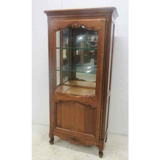 County French Cherry China Cabinet - Image 2 of 10