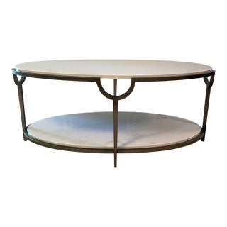 Morello Oval Cocktail Table by Bernhardt Furniture Company For Sale