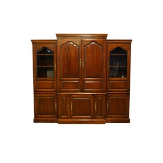 "Hooker Furniture Traditional Style Cherry 93"" Entertainment Center For Sale"