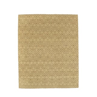 """Modern Indo Gabbeh Area Rug - 7'10"""" X 9'6″ For Sale"""