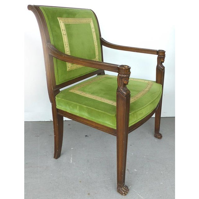 English Traditional 20th Century Renasaince Cocheo Bros, Fine Quality Chairs - A Pair For Sale - Image 3 of 11