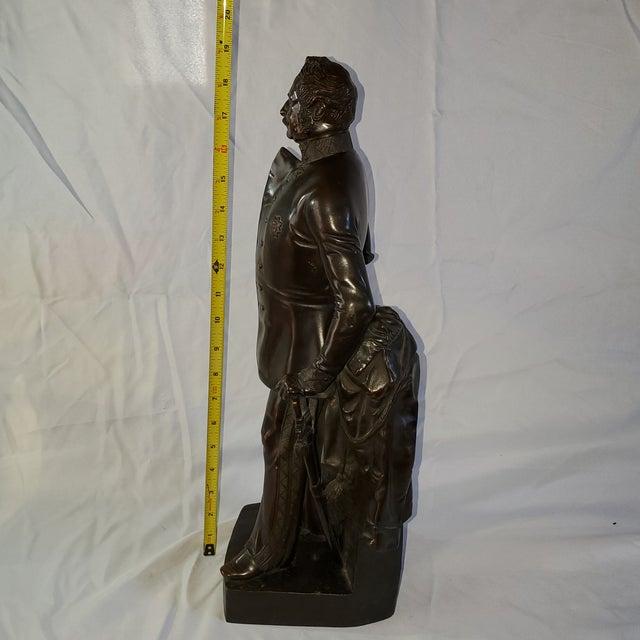 Franz Hogler, German Sculptor, Bronze Statue, Signed 1851 For Sale - Image 4 of 10