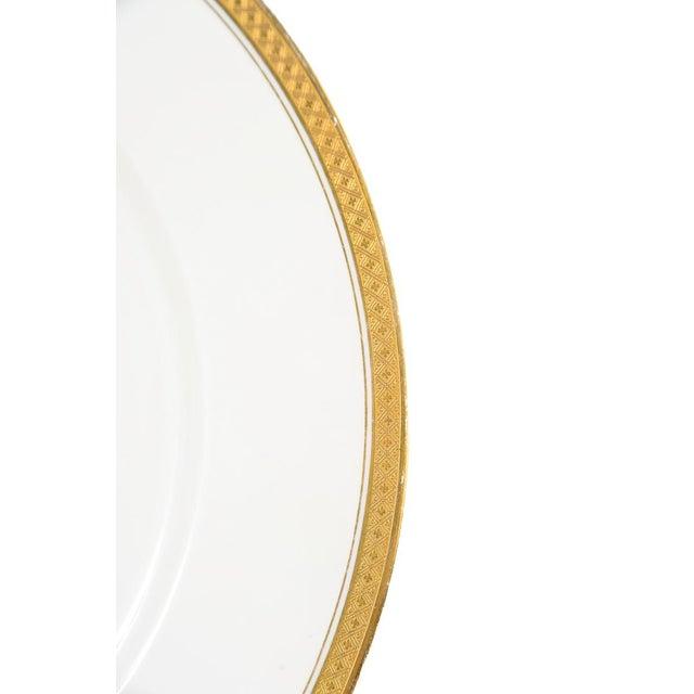 Rosenthal Rosenthal Selb Bavaria Gold Trim Dinner Plates - Set of 5 For Sale - Image 4 of 7