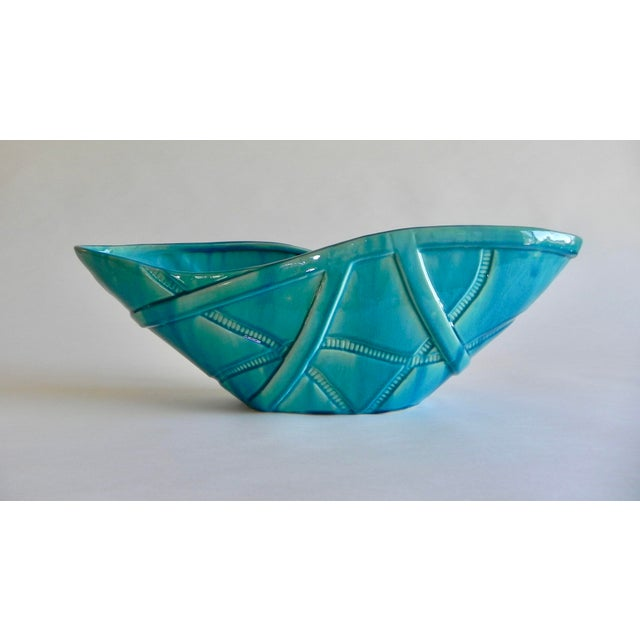 Global Views Aqua Strapped Bowl For Sale In Monterey, CA - Image 6 of 6