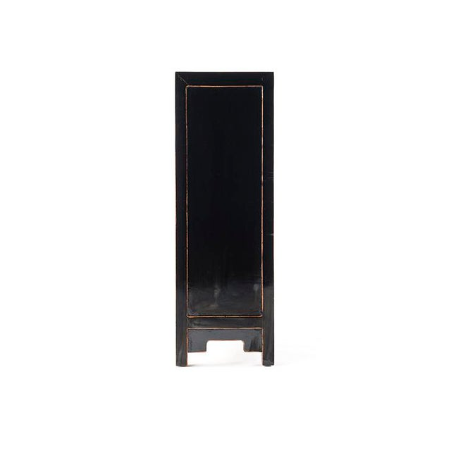 Chinese Asia Black Hallway Zen Cabinet For Sale - Image 3 of 6