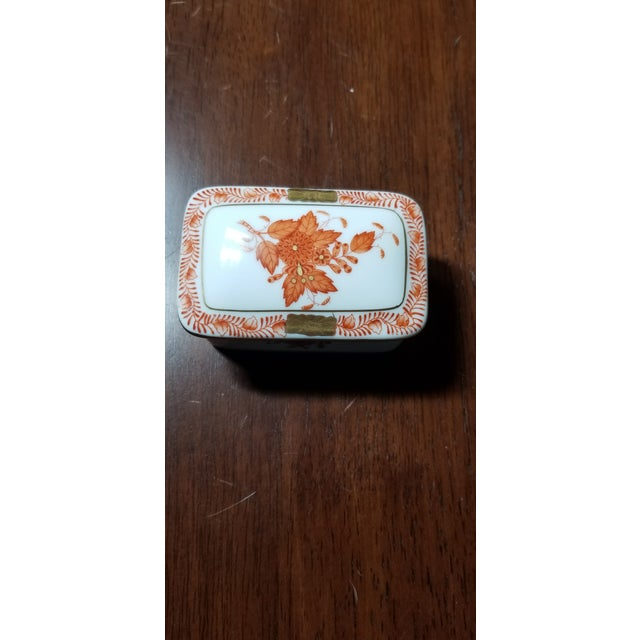 Herend Chinese Bouquet Trinket Box For Sale In New York - Image 6 of 6