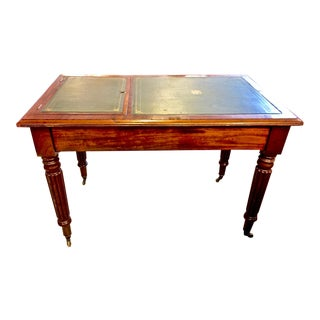 Regency or William IV Writing Table/Desk with Book Stand For Sale
