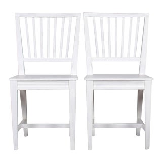 1960s Vintage Swedish Gustavian Leksand Chairs- A Pair For Sale