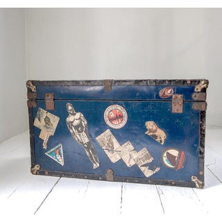 1930's Child's Steamer Trunk Preview