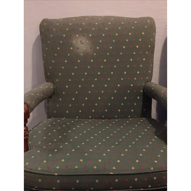 Mid-Century French Club Armchairs - Set of 4 - Image 10 of 10