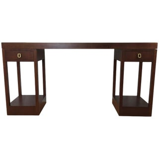 Mahogany Console Table by Johan Tapp for Gump's For Sale