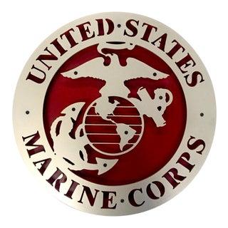 Usmc Marine Corps Plaque (Marines) For Sale